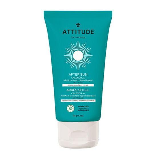 Attitude Hydratační měsíčkový gel po opalování ATTITUDE s vůní máty a okurky 150 g