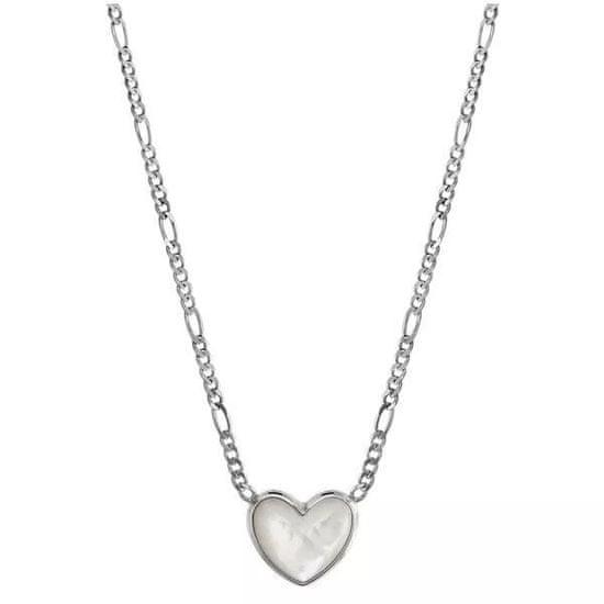 Fossil Ocelový náhrdelník JFS00444040 (řetízek, přívěsek)