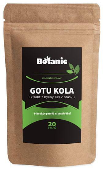 Botanic Gotu kola extrakt 10:1 20g
