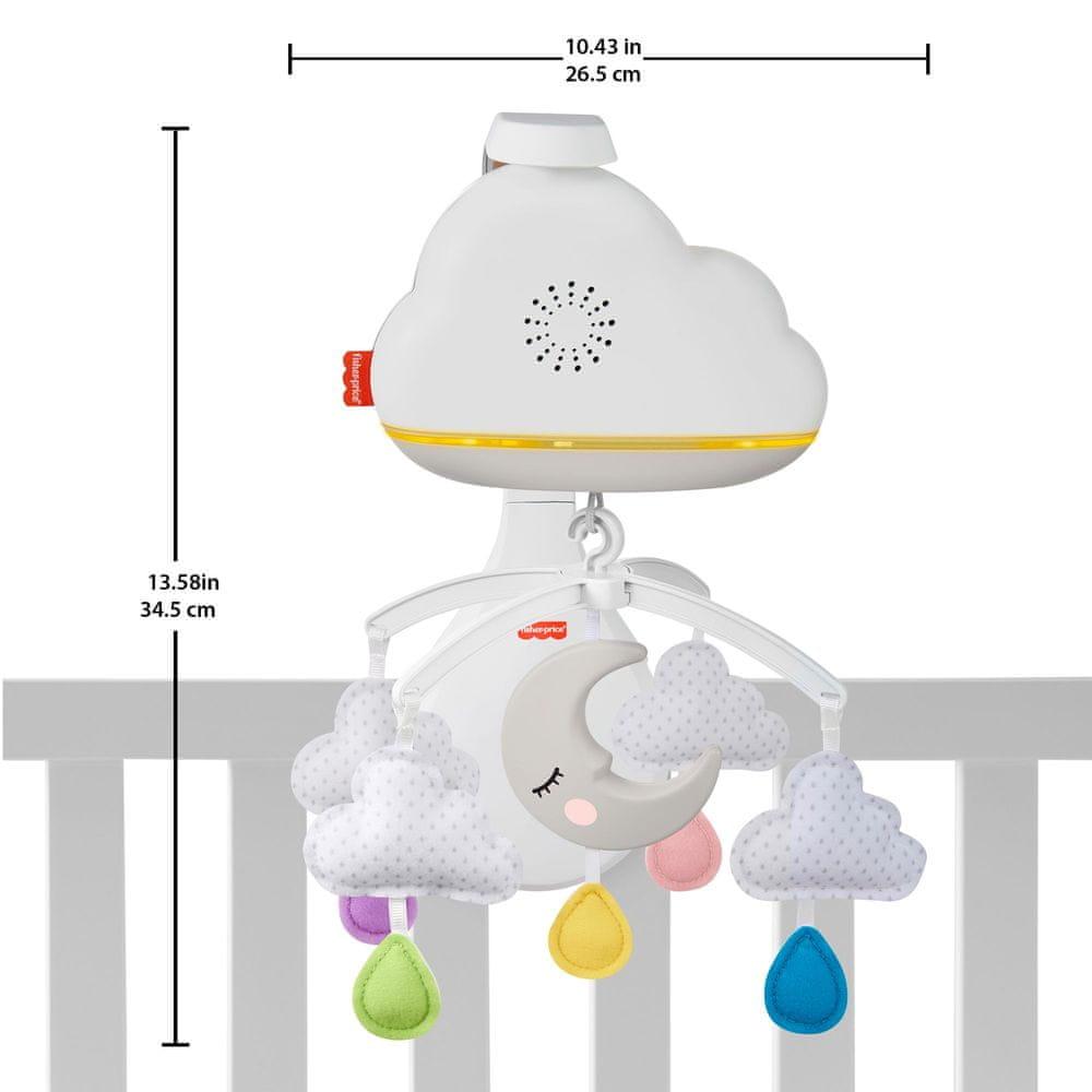 Fisher-Price Kolotoč a usínáček Calming Clouds