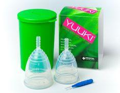 Yuuki MIX - dva menstruační kalíšky SOFT (menší + větší)