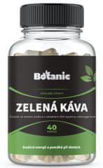 Botanic Zelená káva 50% kyseliny chlorogenové 40 kapslí