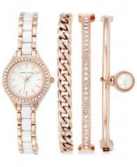 Anne Klein AK/1954RGST set - dámské hodinky s náramky