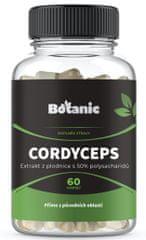 Botanic Cordyceps 50% polysacharidů 60 kapslí