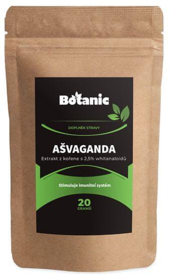Botanic Ašvaganda 2,5% whitanaloidů 20g