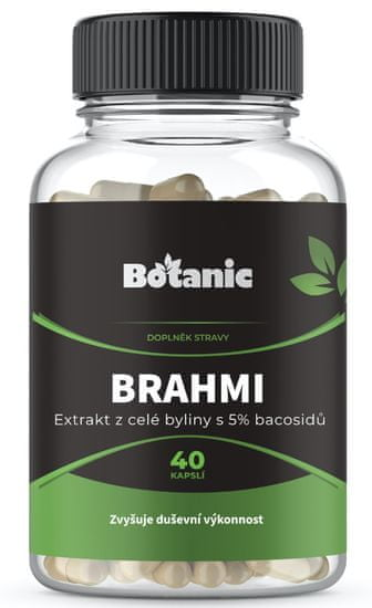 Botanic Brahmi 5% bacosidů 40 kapslí