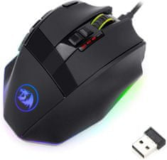 Redragon Sniper Pro M801P gaming miška, RGB