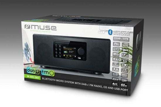Muse M-695 DBT glasbeni sistem, Bluetooth
