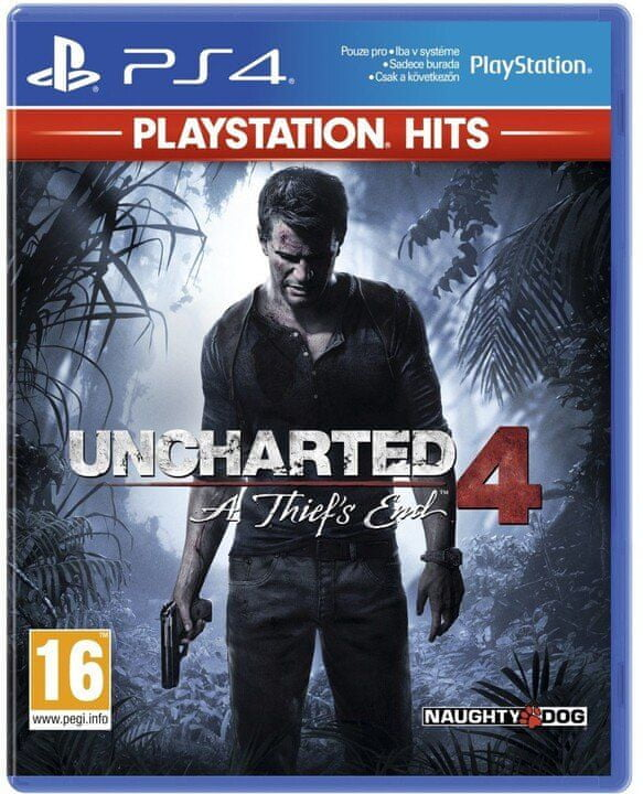 Sony Uncharted 4: A Thief's End PS4 (PS719418672)