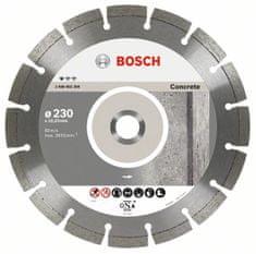 Bosch diamantový dělicí kotouč Standard for Concrete 230 x 22,23 x 2,3 x 10 mm