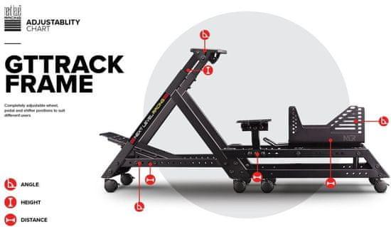 Next Level Racing GTTRACK Frame Simulator Cockpit (NLR-S020)