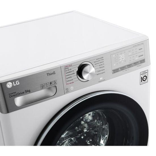 LG automatická parní pračka F69V10VW2W + 10 let záruka na motor
