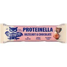 HealthyCo Proteinella Bar 35 g - čokoláda / lieskový orech