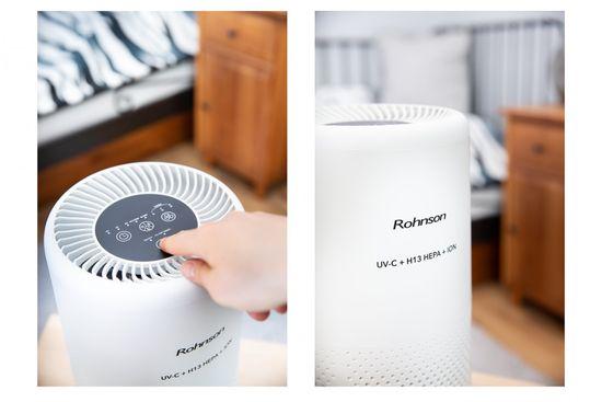 Rohnson R-9460 UV-C + H13 HEPA + ION