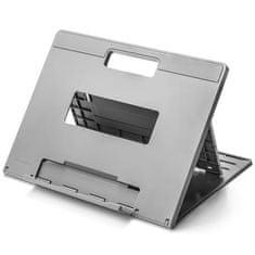 """Kensington Stojan na notebook """"E""""SmartFit Easy Riser Go"""", šedý, chladicí, K50420EU"""