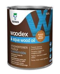 Teknos Woodex Aqua Wood Oil - olje za les, rjav 0,9L