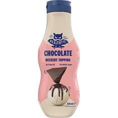 HealthyCo Dessert Topping 250 ml - čokoláda