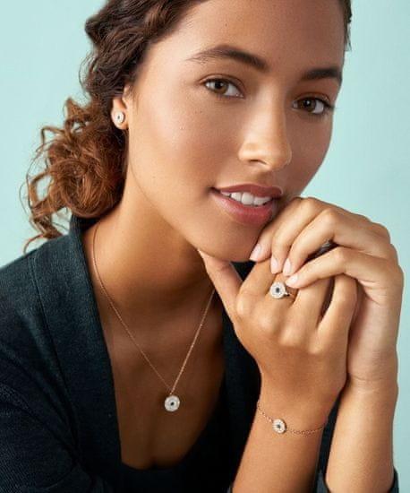 Fossil Fashion bronzový náhrdelník Vintage Glitz JF03586791