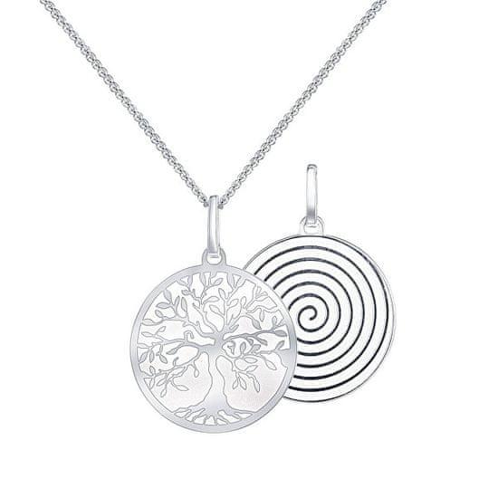 Praqia Ezüst nyaklánc gyönyörű medállal Spiritual Tree KO6105_CU040_45_A_RH (lánc, medál) ezüst 925/1000