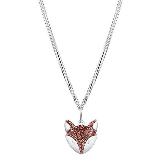 Praqia Játékos ezüst nyaklánc A ravasz róka KO6351_CU035_40_RH (lánc, medál) ezüst 925/1000
