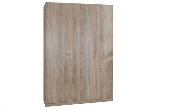 Garderobna omara 3D204, hrast