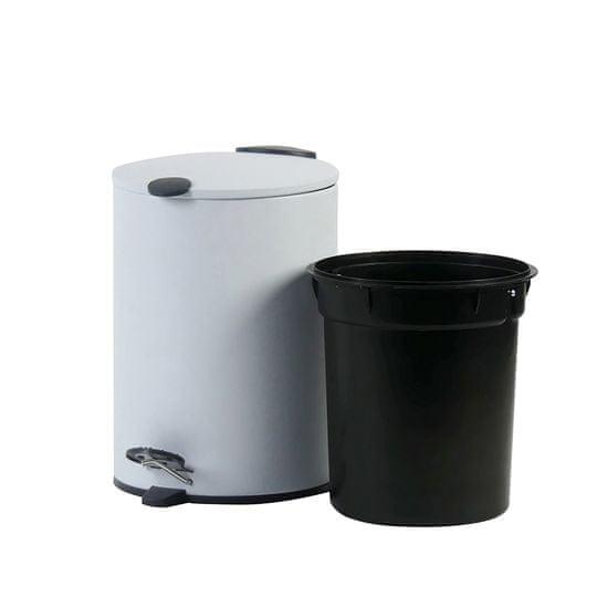 Kela kozmetični koš za odpadke MATS, 3 l, rjav