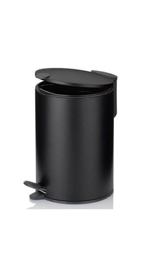 Kela kozmetični koš za odpadke MATS, 3 l, črni