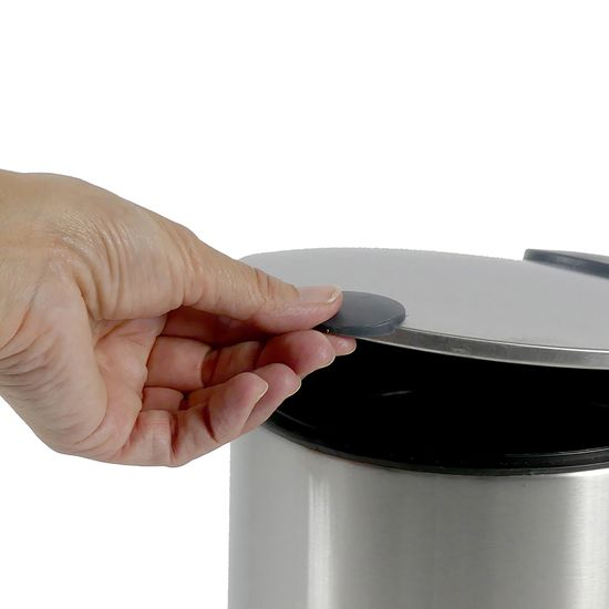 Kela kozmetični koš za odpadke MATS, 3 l, nerjaveče jeklo