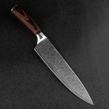 "Xituo  Šéfkuchařský nůž 8"" XITUO SAGA ocel 7CR17 440C"