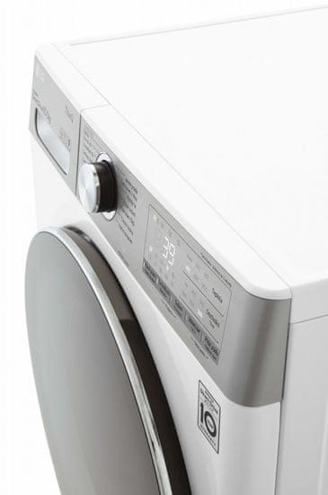 LG Slim automatická parní pračka se sušičkou F2DV9S8H2 + 10 let záruka na motor