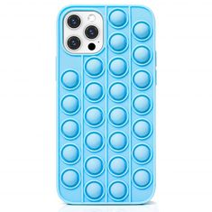 MG Push Bubble silikonski ovitek za iPhone 12 / 12 Pro, modro