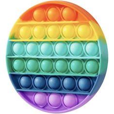 MG Bubble Pop It antistresová hračka, kruh, multicolor