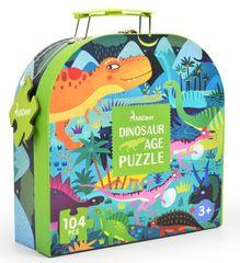 Mideer puzzle - V čase dinosaurov, darčekové balenie