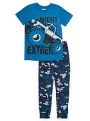 chlapčenské pyžamo Night Extreme WJB92623-190 128 tmavomodré