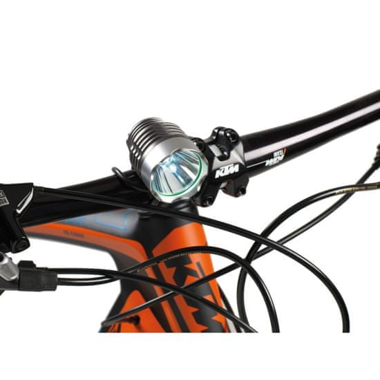 Barbieri ECO LED luč za kolo, sprednja, 1000 lm, Li-Ion, polnilna