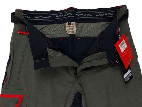 MAYA MAYA Moške lahke funkcionalne pohodne hlače, olivno zelena - Hagen