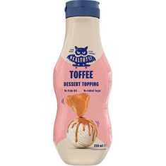HealthyCo Dessert Topping 250 ml - toffee