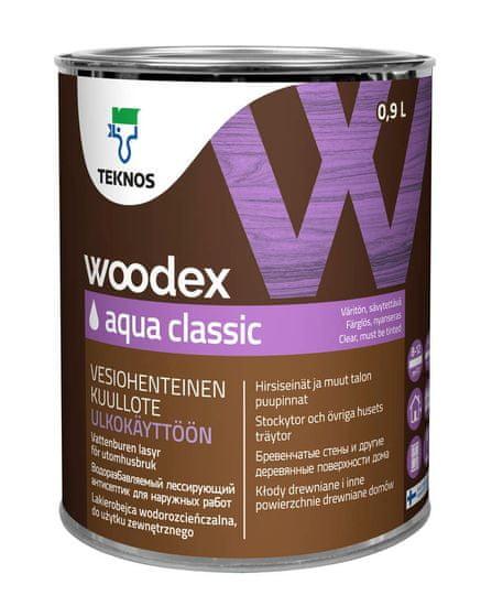 Teknos Woodex Aqua Classic - transparentni premaz za les