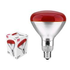 Avide Infrardeča žarnica E27 150W rdeča
