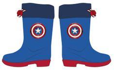 Disney 2300005023 Avengers fantovski škornji, modri, 24