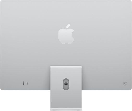 "Apple iMac 24"" 4,5K Retina M1/16GB/512GB/7-core GPU, strieborná"