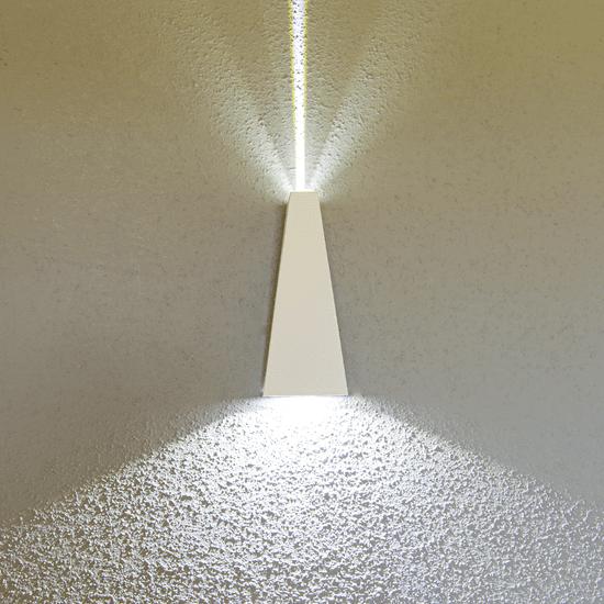 LED PRIHODNOST stenska LED svetilka JD1003 - bela