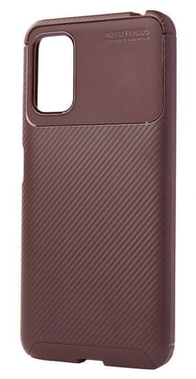 EPICO Carbon Case maskica za Xiaomi Redmi Note 10 5G (57610101700001), smeđa