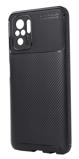 EPICO Carbon Case maskica za Xiaomi Redmi Note 10S (57510101300001), crna