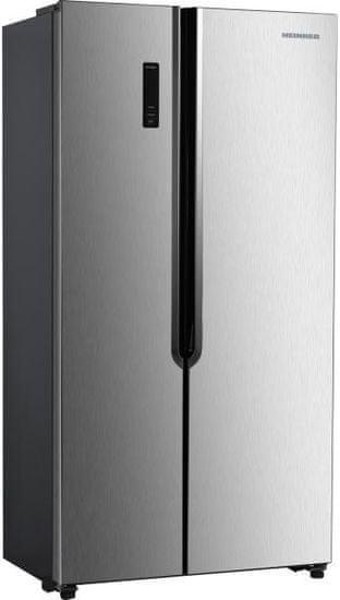 Heinner HSBS-H442NFXE++ ameriški hladilnik