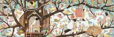 Djeco Puzzle slika Hiša na drevesu, 200 kosov
