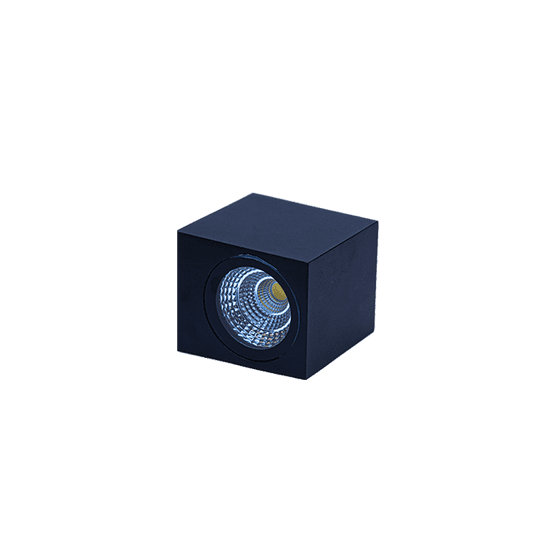 LED PRIHODNOST stenska LED svetilka JD8001 - črna