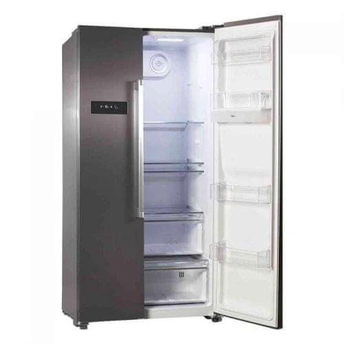 VOX electronics SBS 6025 IXF ameriški hladilnik