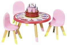 BABY born Zabavna miza - rojstnodnevna izdaja
