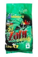Povlečeme vše Prací prášek Zafir 3v1 1,5kg